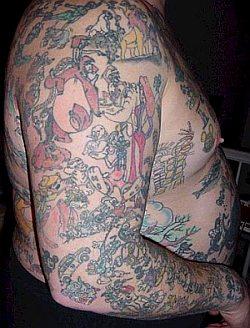 Disney tattoo guy website down